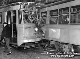 BTC Streetcar Head-on Collision